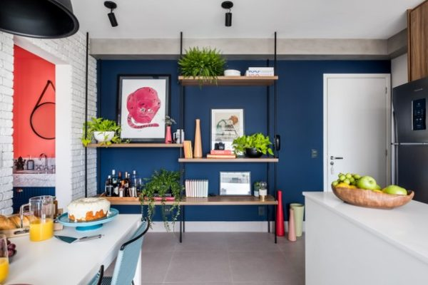 Como usar as cores certas no seu apartamento pequeno